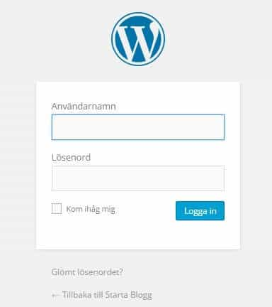 Admin WordPress
