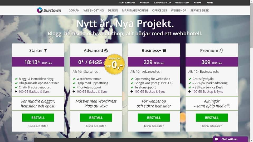 surftown webhosting
