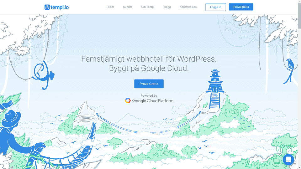 templ.io managed wordpress