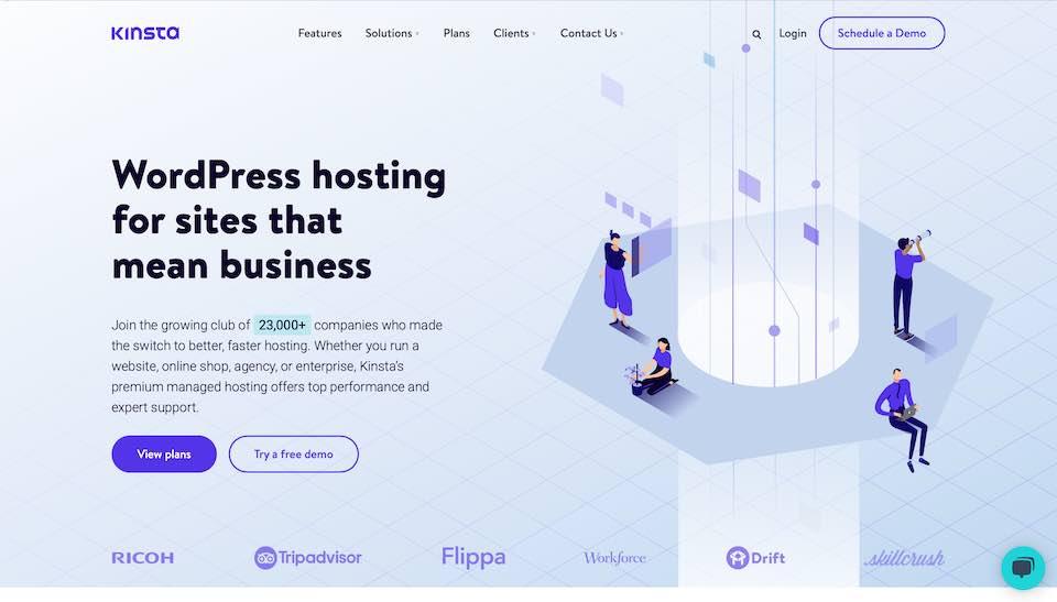 Kinsta WordPress-hosting